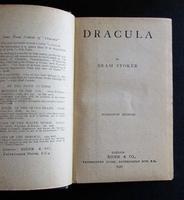 1927 Dracula by Bram Stoker Rare UK Rider Edition + Original Dust Jacket (2 of 5)