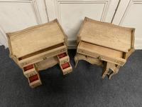 Pair of Bleached Oak Bedside Cabinets (6 of 15)
