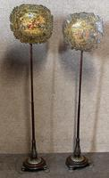 Pair of Early 19th Century Mahogany & Brass Mounted Pole Screens (11 of 12)