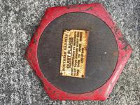 Large Heavy Rusted Cast Iron Railway Plaque Sign Train Notice (3 of 25)