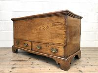 18th Century Elm Mule Chest with Hinged Top (11 of 14)