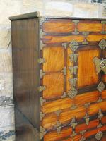 Chinese Elm Marriage Cabinet Circa 1900 (11 of 12)