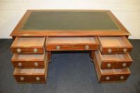 Lovely Antique Mahogany Desk (4 of 9)