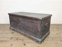 Rustic Antique Wooden Trunk (2 of 8)
