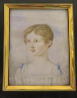 Georgian Portrait Miniature Angelic Young Girl C.1780 (5 of 5)