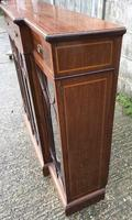 Wonderful Edwardian Inlaid Mahogany Four Door Breakfront Bookcase by Maple & co (7 of 14)