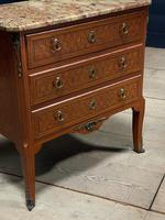 French Parquetry Commode Chest of Drawers (21 of 27)