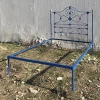 Cast Iron Platform Antique Bed