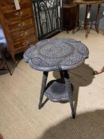 Late 19th Century Indian Lamp Table (4 of 8)