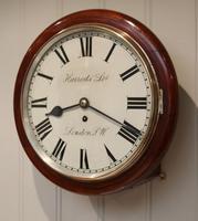 Mahogany Dial Clock by Harrods (5 of 12)