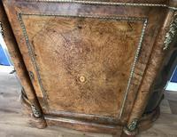 Victorian Burr Walnut Inlaid Credenza With Ormolu Mounts (25 of 27)