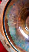 Wedgwood Dragon & Butterfly Lustre Ogee Shaped Pedestal Bowl (3 of 9)