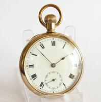 Antique Swiss Gold Filled Pocket Watch (2 of 5)