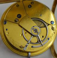 1837 English 18K Gold Fusee Pocket Watch (4 of 4)