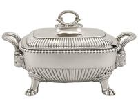 Sterling Silver Tureens - Antique George III 1810 (4 of 15)