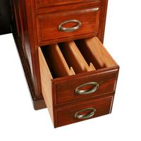 English Mahogany Roll Top Desk (6 of 9)
