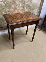 19th Century Games / Occasional Table with Inlaid Top (3 of 7)
