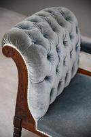 Victorian Upholstered Button Back Chaise Longue (2 of 11)