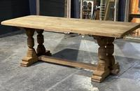French Oak Refectory Farmhouse Dining Table (5 of 12)