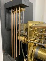 Gillett & Johnston, Westminster Chiming Mahogany Grandmother Clock (2 of 11)