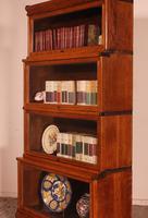Globe Wernicke Bookcase in Oak Called Waterfall from England (6 of 9)