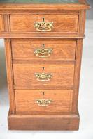 Antique Oak Edwardian Desk (5 of 12)