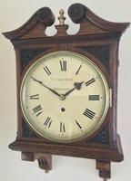 Stunning English Fusee Carved Timepiece (2 of 9)