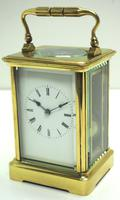 Large Classic Antique French 8-day Gong Striking Carriage Clock c.1880 (3 of 10)