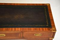 Antique Military Campaign Style Mahogany Writing Table / Desk (4 of 12)