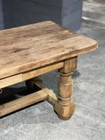 Rustic French Oak Farmhouse Kitchen Dining Table (14 of 16)