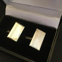Danish Sterling Silver Cufflinks. 1950s by Firma Silver Cove (2 of 4)