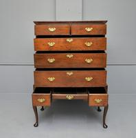 Early 18th Century Georgian Oak Chest on Stand (6 of 7)