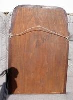 Small Early 20th Art Nouveau Rosewood Wall or Pad  Mirror (11 of 11)