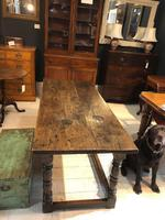 Oak Refectory Table from 1700's (2 of 6)