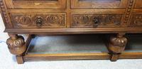 Superb Carved Oak Cupboard on Stand (6 of 34)