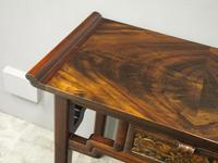 Chinoiserie Mahogany Side Table by Whytock and Reid (5 of 13)