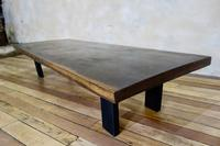 Large Scale 19th Century Hardwood Coffee - Low Table (5 of 12)
