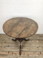 Antique Georgian Oak Tilt Top Table (3 of 10)