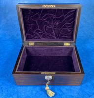 Victorian Rosewood Jewellery Box (8 of 10)