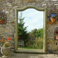 Beautiful 19th Century French Hand Painted Mirror (2 of 8)