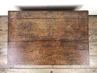 19th Century Oak Box Belonging to Henry Hanmer MP (6 of 16)