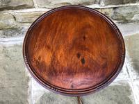 Antique Mahogany Tripod Wine Table (5 of 6)