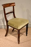 Set of Six William IV Rosewood Dining Chairs (5 of 8)