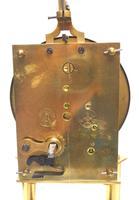 Rare Gustav Becker 400-day Torsion Clock German Mantel Clock Mahogany & Bevelled Glass Case (12 of 13)