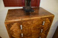 Large Art Deco Six Drawer Chest of Drawers (7 of 10)