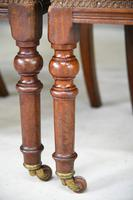 6 Victorian Walnut Dining Chairs (7 of 11)