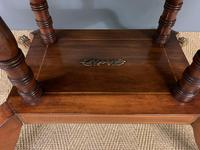 Fine Regency Inlaid Mahogany Library Table (13 of 16)
