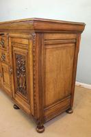 Antique Late 19th Century Oak Sideboard Dresser Base. (4 of 14)