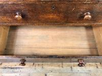 Antique Oak Chest of Drawers (8 of 10)