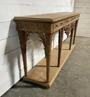 Wonderful French Walnut Console Table (17 of 36)